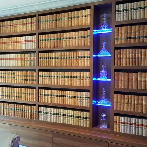 Home Library Bespoke Furniture Ascot