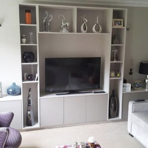 Custom Media Furniture Ascot