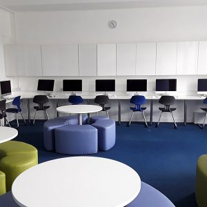 Custom Fitted School ICT Room Furniture Ascot